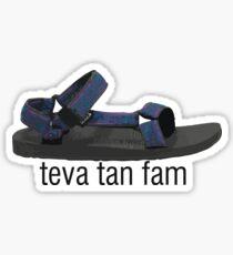 Teva Tan Fam Sticker