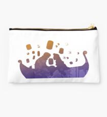 Love on a boat Inspired Silhouette Studio Pouch