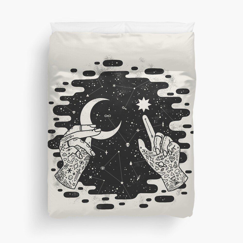 Look to the Skies Duvet Cover
