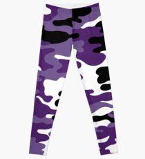 Purple Army  Leggings