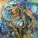 Iguana - Spirit Of Contentment by Carol  Cavalaris