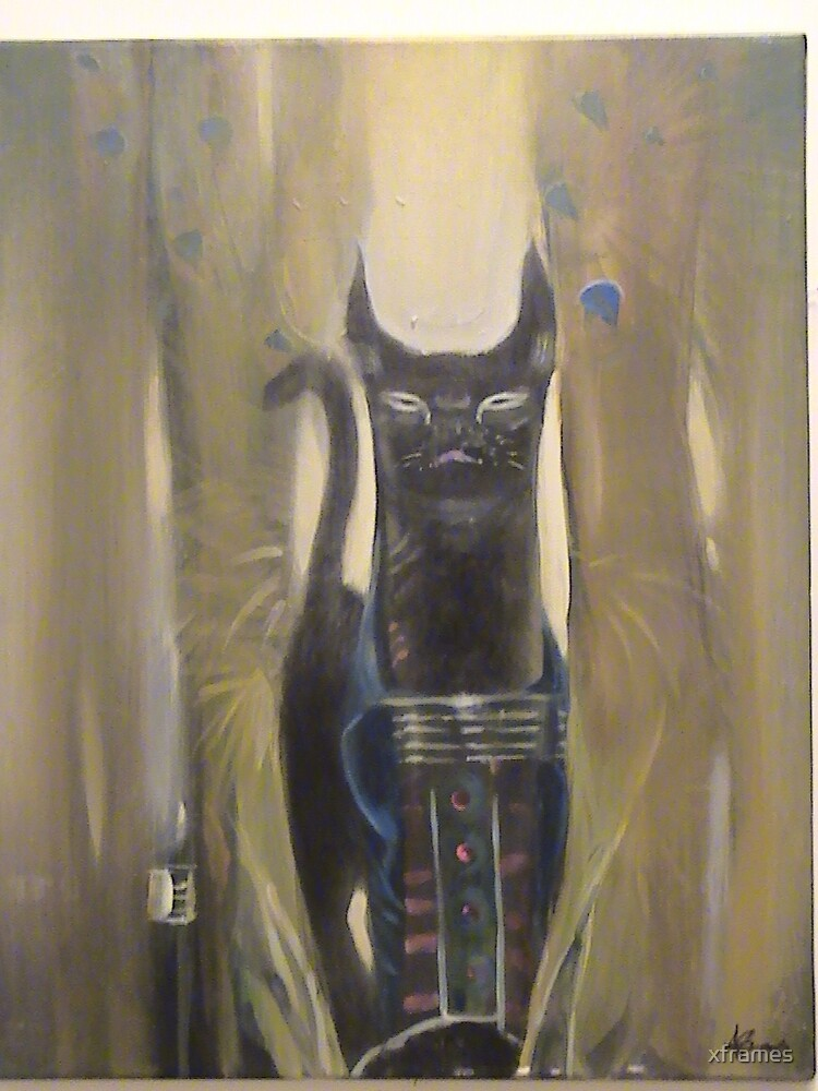 """ Mystical Cat"" by xframes"