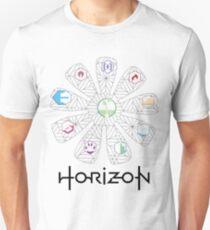 Horizon Gaia Tree (Black) T-Shirt