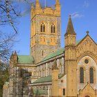 Buckfast Abbey by lezvee