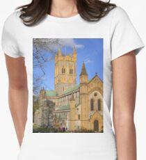 Buckfast Abbey Women's Fitted T-Shirt