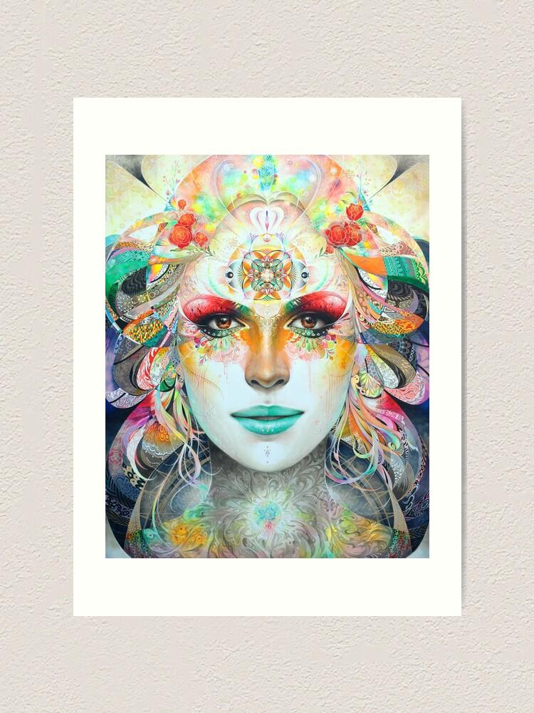 Alternate view of Gaia Art Print