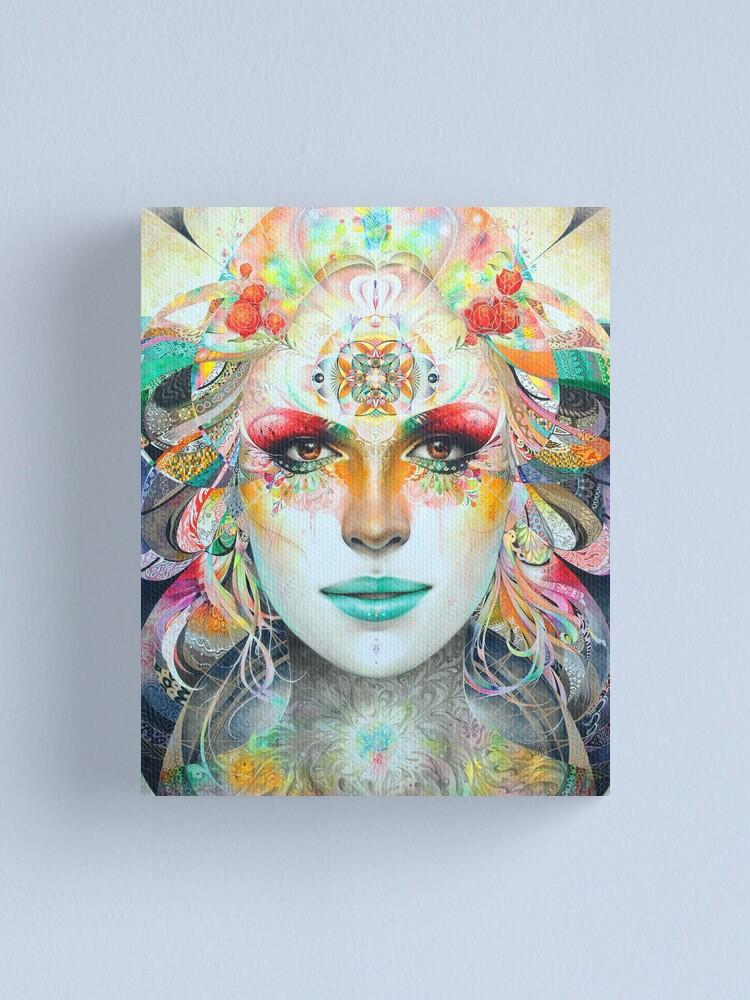 Alternate view of Gaia Canvas Print