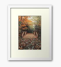 Autumn Wonderland Framed Print