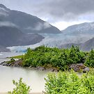 Mendenhall Glacier  by John  Kapusta