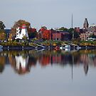 Fredericton Reflections in Autumn 2 by Steve Hildebrandt