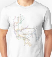 New York City Subway System T-Shirt