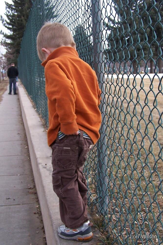watch the pants by Lori  Wilson
