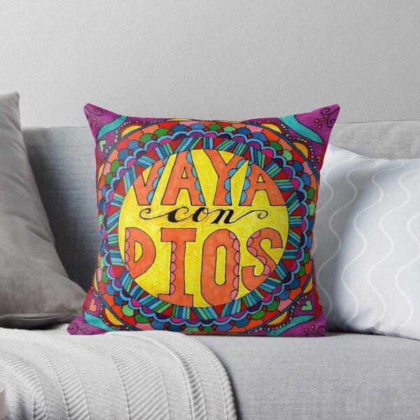 Vaya con Dios Throw Pillow