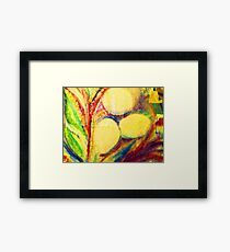 Ophelia's and Emliy's Eggs Framed Print