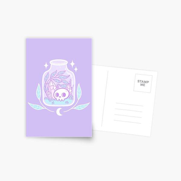 Pastel Terrarium   Nikury Postcard