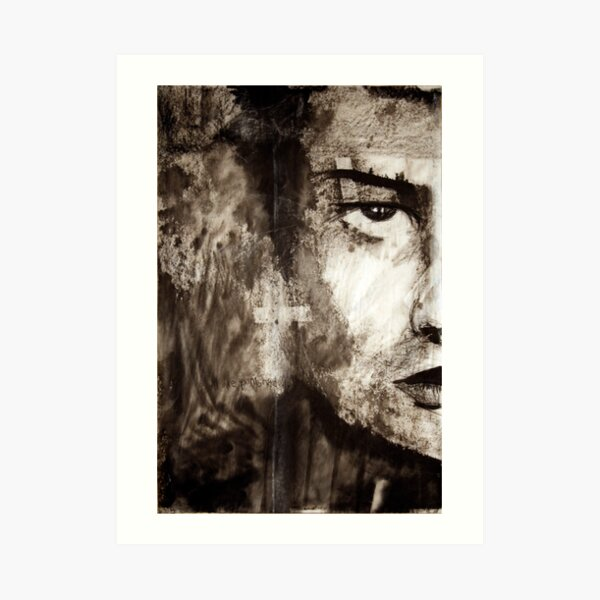 portrait of Simon John Ritchie Art Print