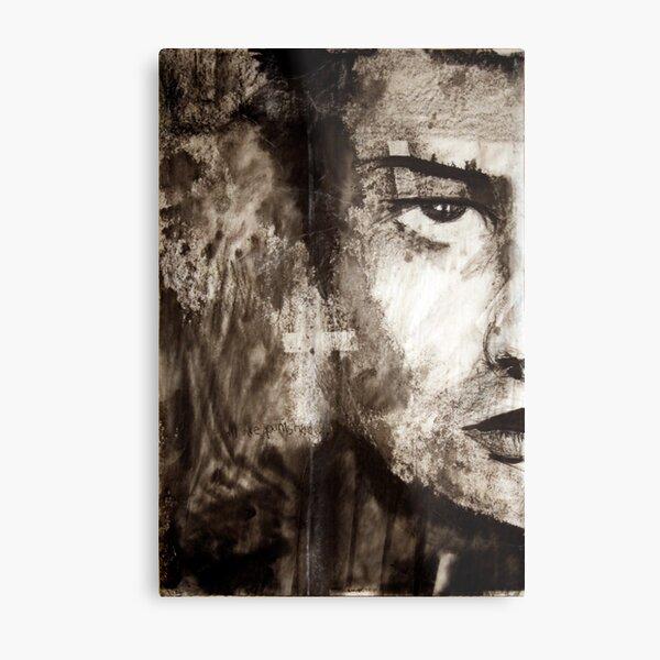 portrait of Simon John Ritchie Metal Print