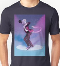 Furry on Ice - Full Background T-Shirt