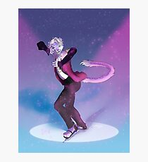 Furry on Ice - Full Background Photographic Print
