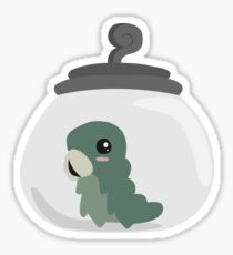 Grub in a Jar Sticker
