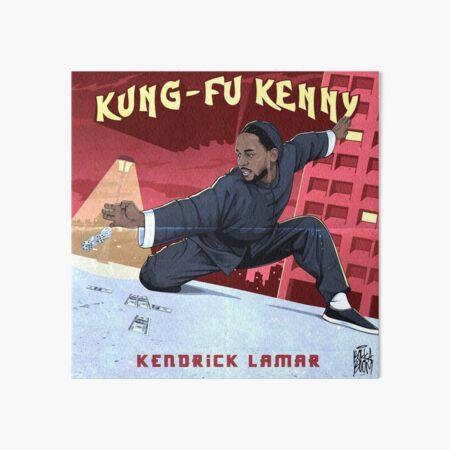 Kung Fu Kenny Art Board Print