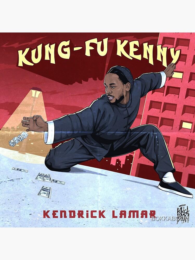 Kung Fu Kenny by BOKKABOOM