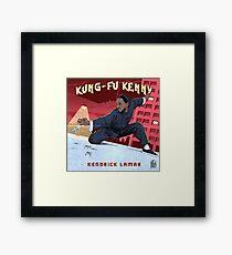 Kung Fu Kenny Framed Print