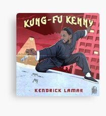 Kung Fu Kenny Metal Print