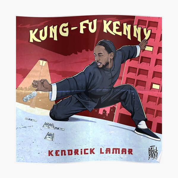 Kung Fu Kenny Poster