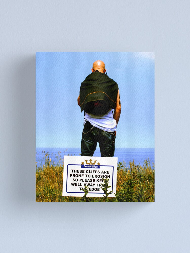 Alternate view of Standing on the Edge Canvas Print
