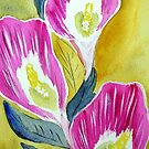 Calla Lilies by Charisse Colbert