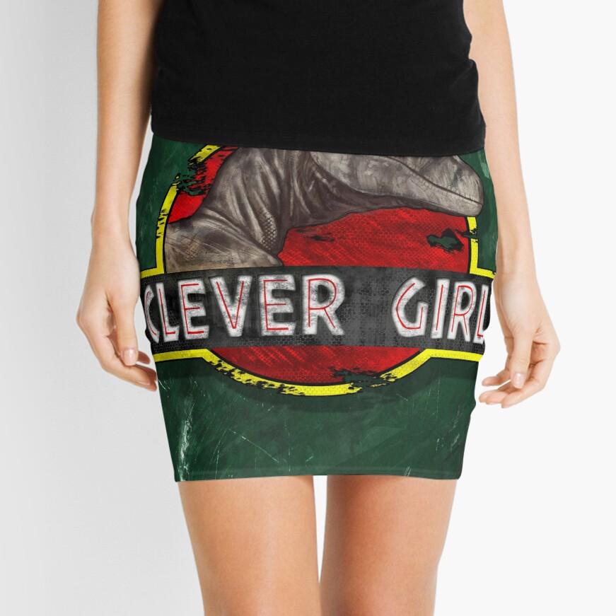 Clever Girl Mini Skirt