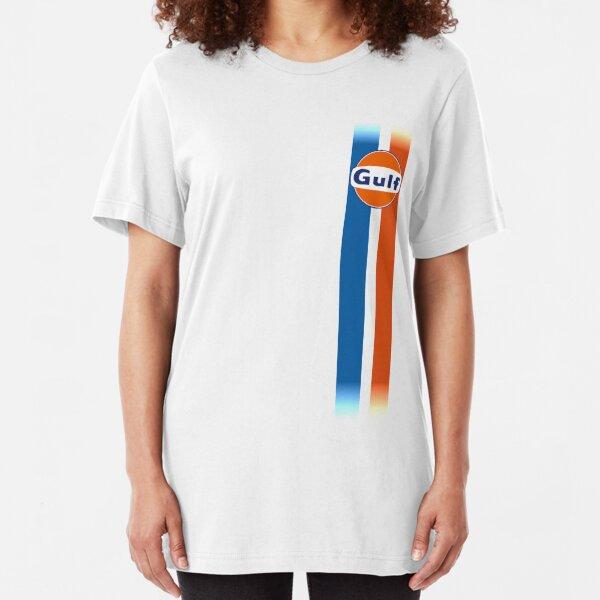 Gulf stripes Slim Fit T-Shirt