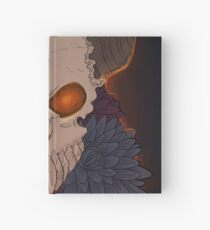 Dahlia Skull Hardcover Journal