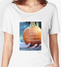 May Luck be Yours on Halloween Women's Relaxed Fit T-Shirt