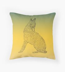 Wolf Throw Pillow