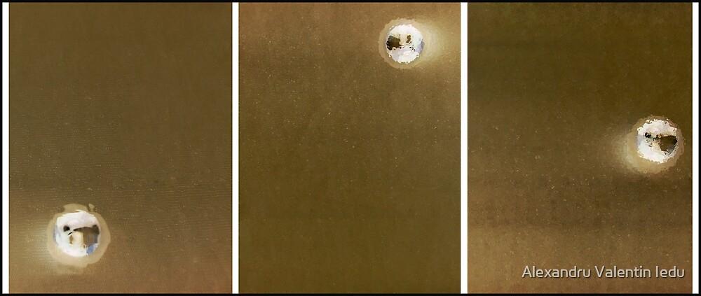triptych - Power, Bounce and Gravity by Alexandru Valentin Iedu