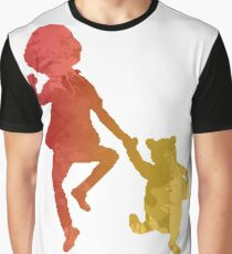 Boy and Bear Inspired Silhouette Graphic T-Shirt