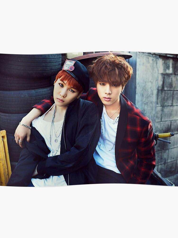 BTS WAR OF HORMONE SUGA & JIN | Poster