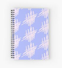Pink Abstract Spiral Notebook
