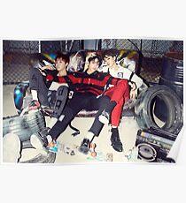 BTS WAR OF HORMONE J-HOPE JUNGKOOK & JIMIN Poster