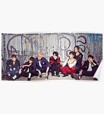 BTS WAR OF HORMONE Poster