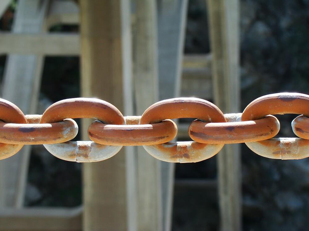 Rusty Shiny Chain by eMDee213