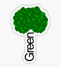 GREEN iii Sticker