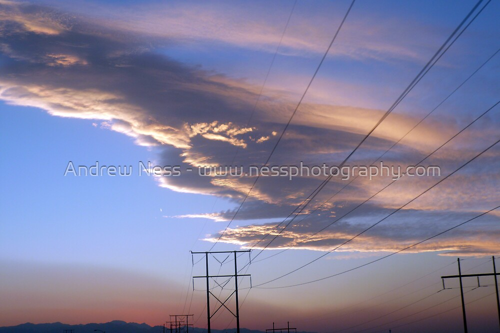 Sunset Pylons by Andrew Ness - www.nessphotography.com