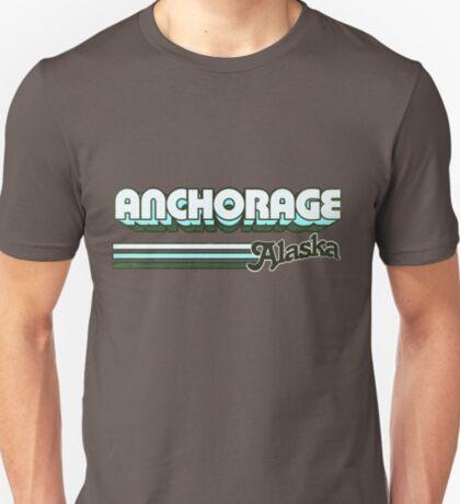 Anchorage, AL   City Stripes T-Shirt