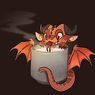 Coffee Dragon by PencilCat