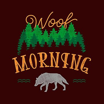 Woof Morning by KalleKai