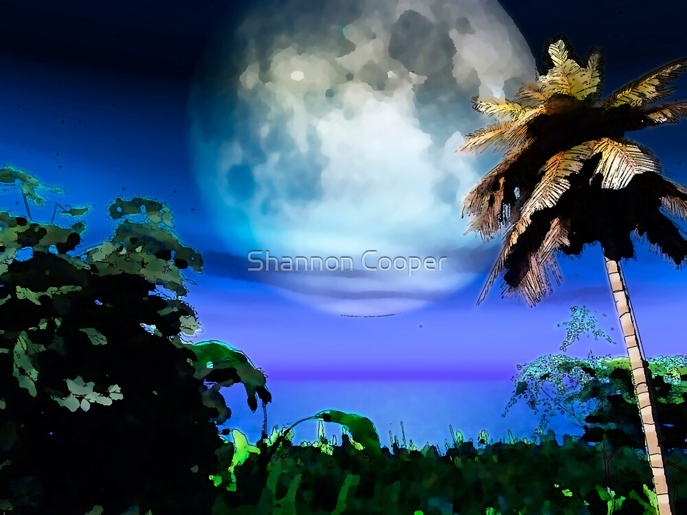 Blue Moon by Shannon Beauford