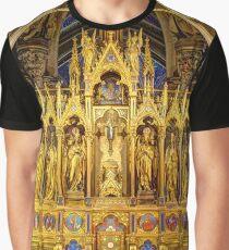 Main Altar Votivkirche, Vienna Austria Graphic T-Shirt